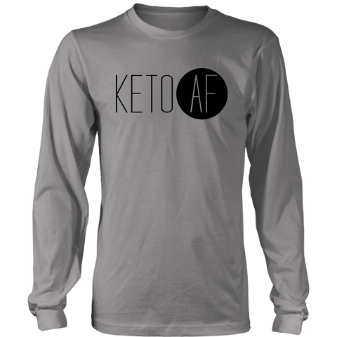 Image of Keto AF - Long Sleeve Shirt