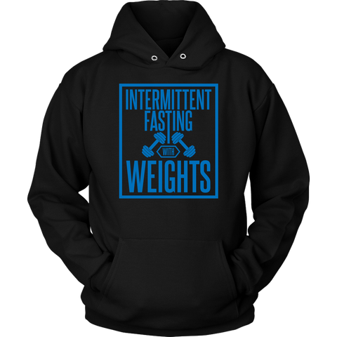 Image of Intermittent Fasting With Weights - Unisex Hoodie