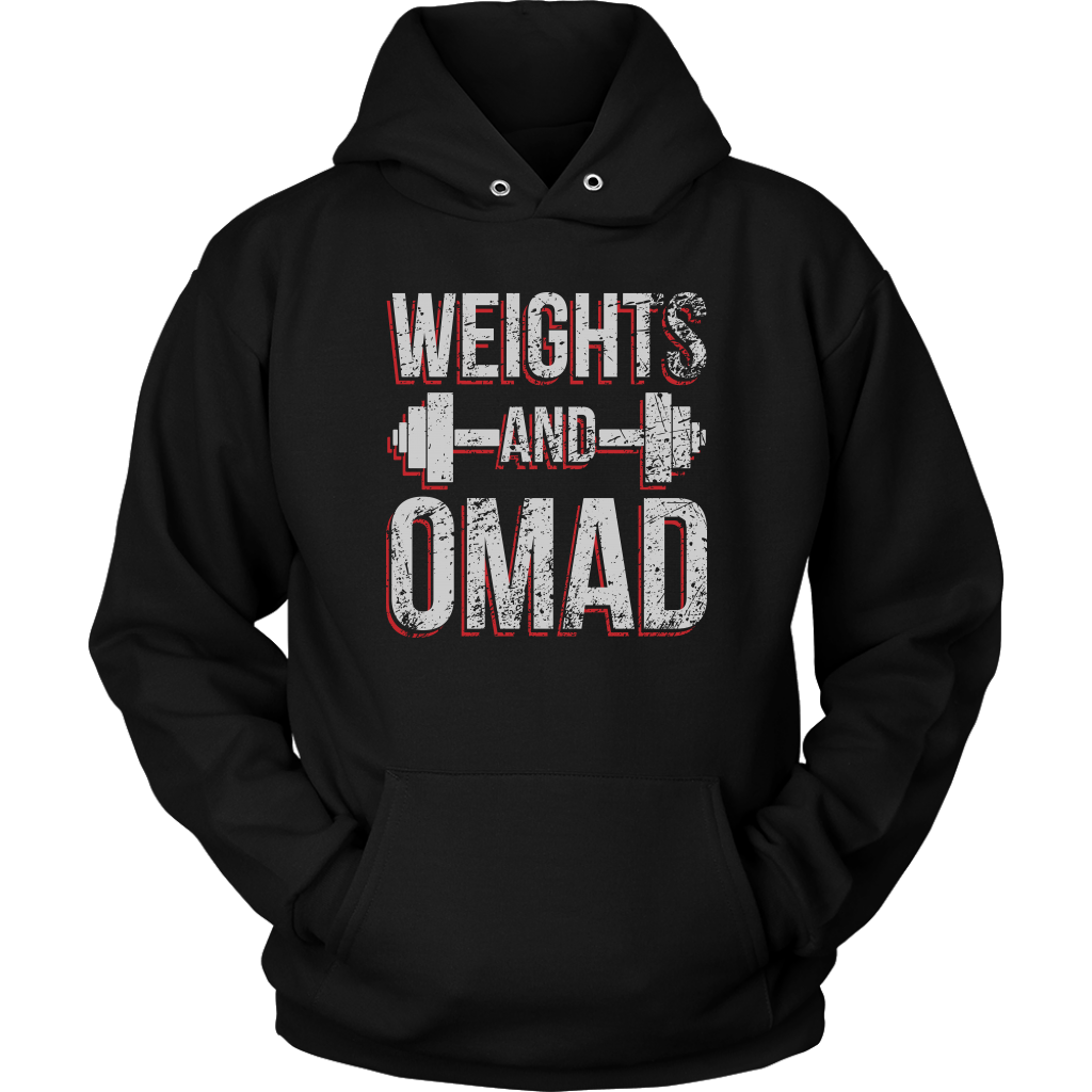 Weights And OMAD - Unisex Hoodie