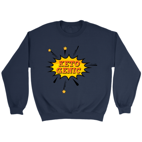 Image of Ketogenic POW! - Crewneck Sweatshirt