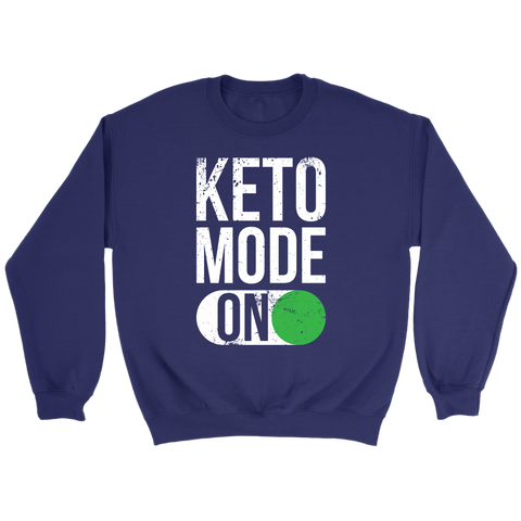 Image of Keto Mode ON - Crewneck Sweatshirt