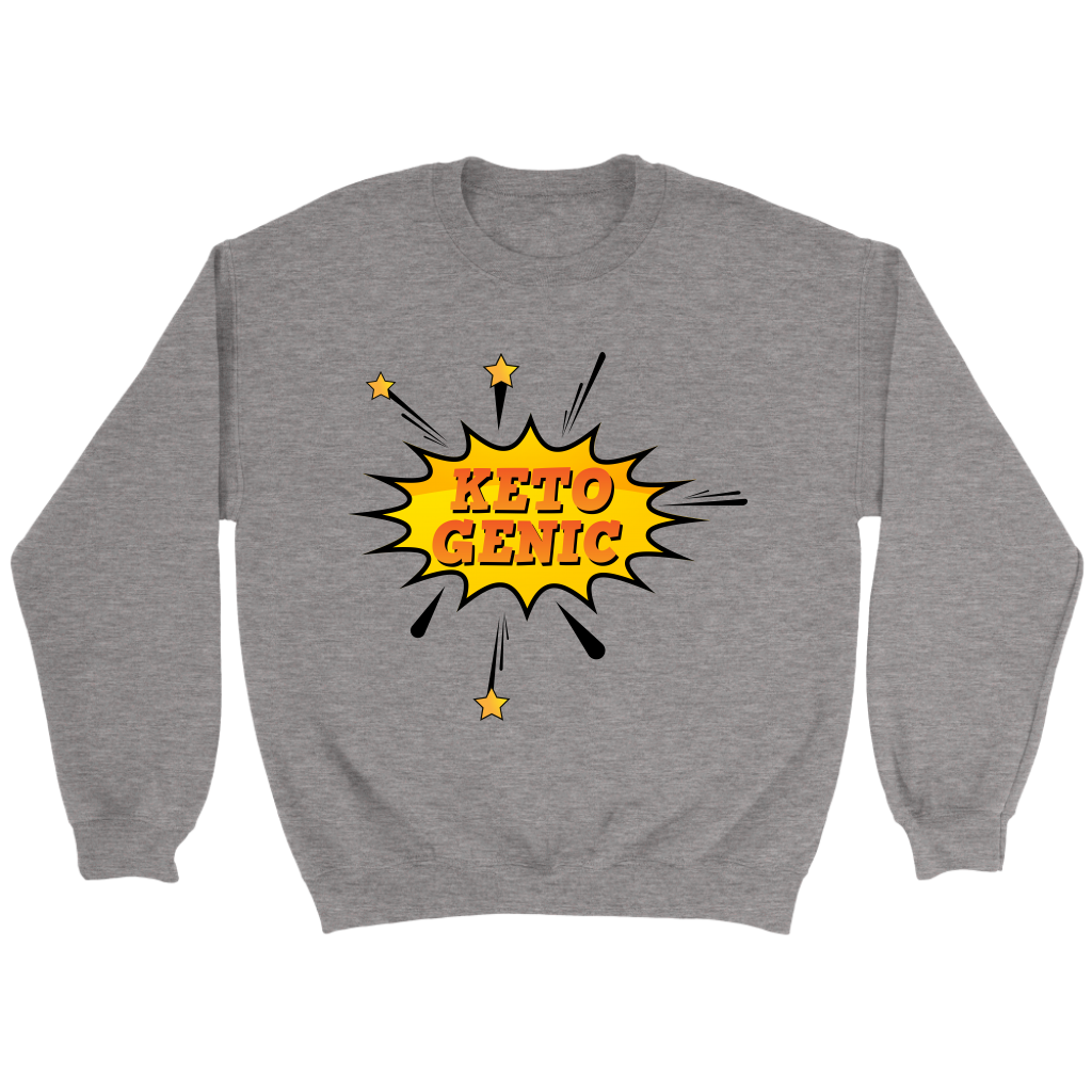 Ketogenic POW! - Crewneck Sweatshirt