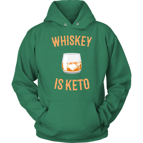 Image of Whiskey Is Keto - Unisex Hoodie