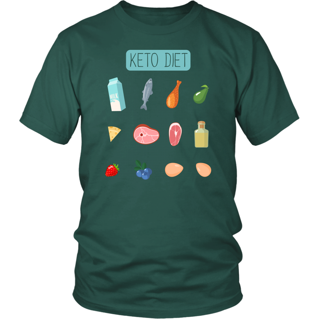 Keto Diet Food Groups - Unisex Shirt