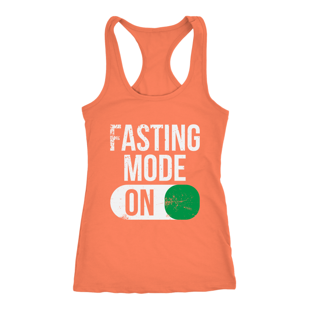 Fasting Mode ON - Racerback Tank