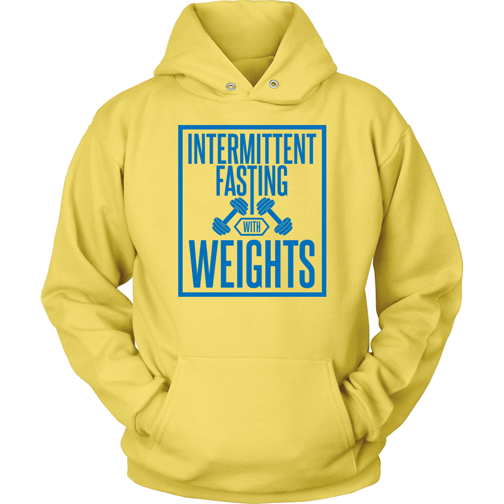 Intermittent Fasting With Weights - Unisex Hoodie
