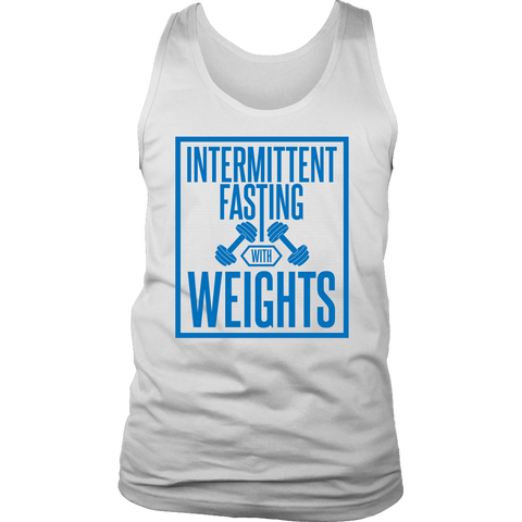 Intermittent Fasting With Weights - Mens Tank
