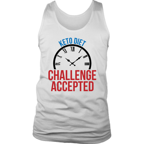 Image of Keto Diet Challenge Accepted - Mens Tank