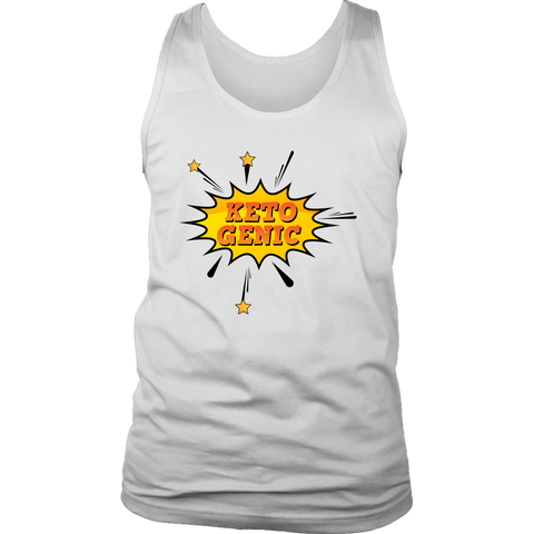Image of Ketogenic POW! - Mens Tank