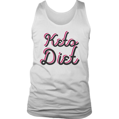 Image of Keto Diet - Mens Tank