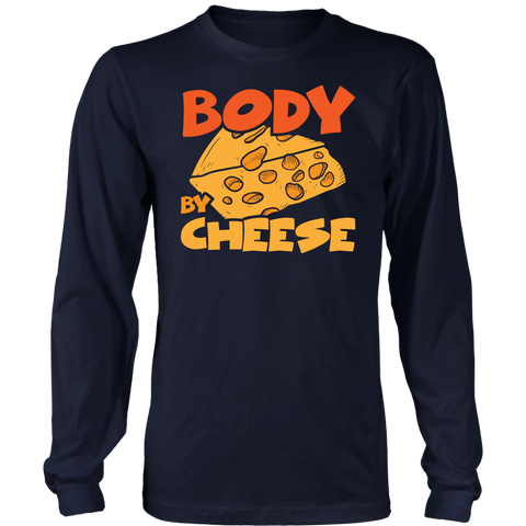 Body By Cheese - Long Sleeve Shirt