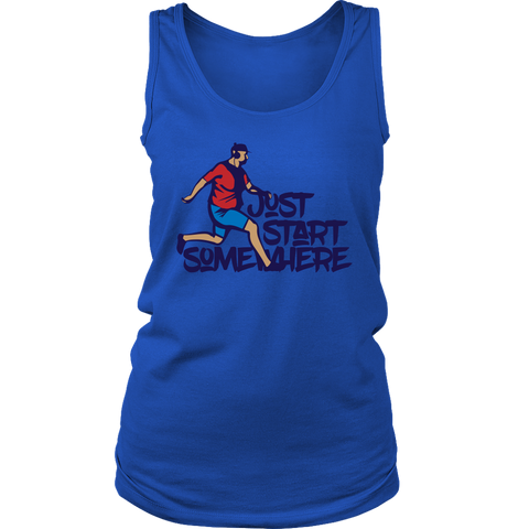 Image of Just Start Somewhere - Womens Tank