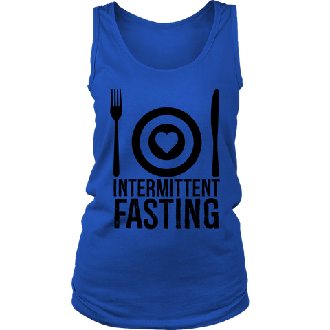 Image of Intermittent Fasting Dish - Womens Tank