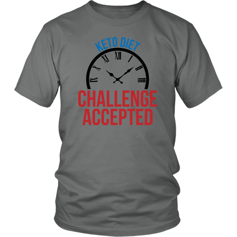 Image of Keto Diet Challenge Accepted - Unisex Shirt