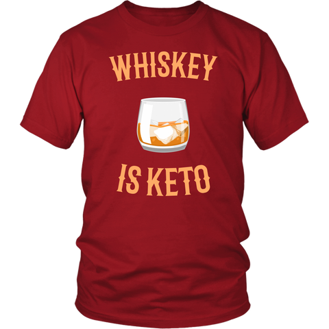 Image of Whiskey Is Keto - Unisex Shirt