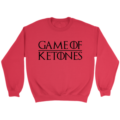 Image of Games Of Ketones - Crewneck Sweatshirt
