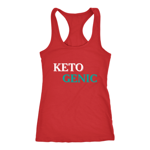 Image of Ketogenic - Racerback Tank