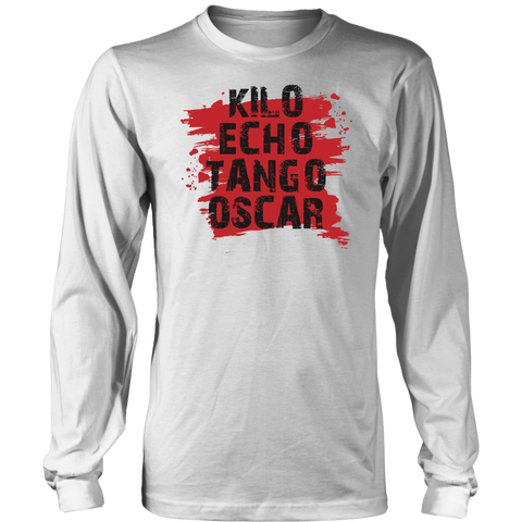 Kilo Echo Tango Oscar K.E.T.O - Long Sleeve Shirt