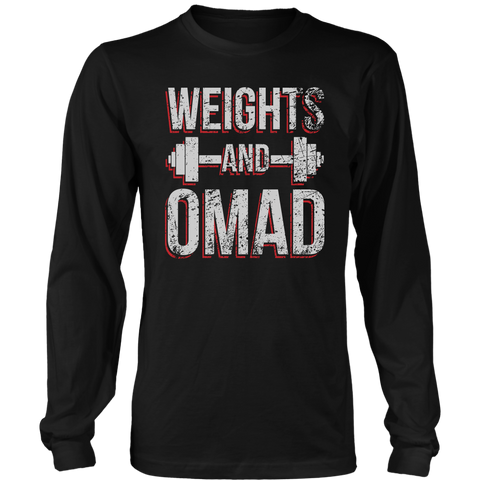 Image of Weights And OMAD - Long Sleeve Shirt