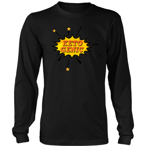 Image of Ketogenic POW! - Long Sleeve Shirt