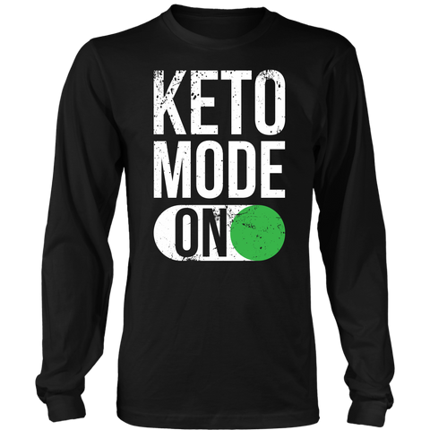 Image of Keto Mode ON - Long Sleeve Shirt