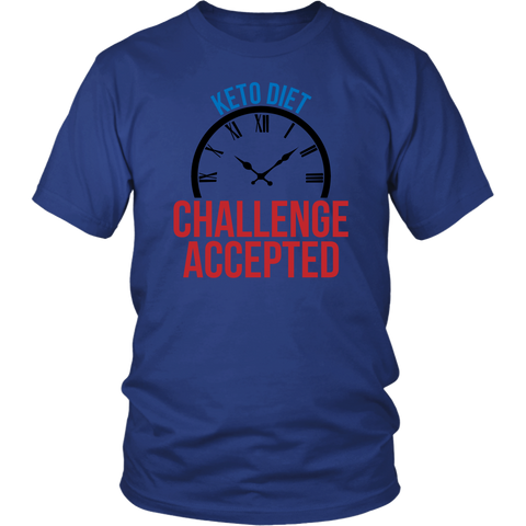 Keto Diet Challenge Accepted - Unisex Shirt