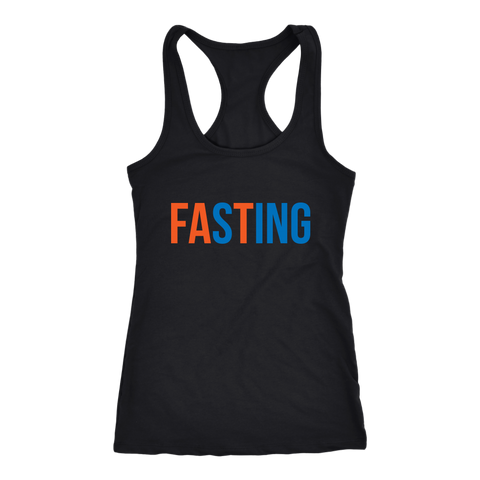 Image of Fasting - Racerback Tank