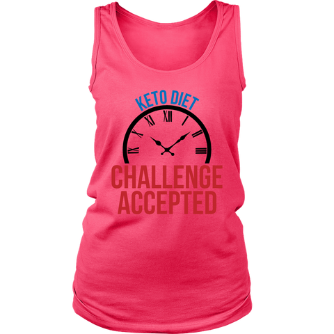 Image of Keto Diet Challenge Accepted - Womens Tank