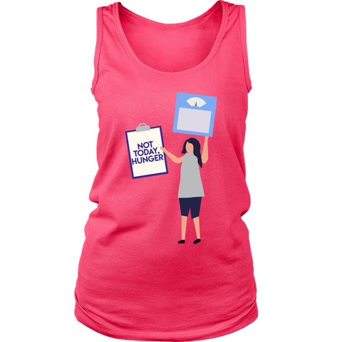 Image of Not Today Hunger - Womens Tank