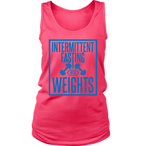 Intermittent Fasting With Weights - Womens Tank