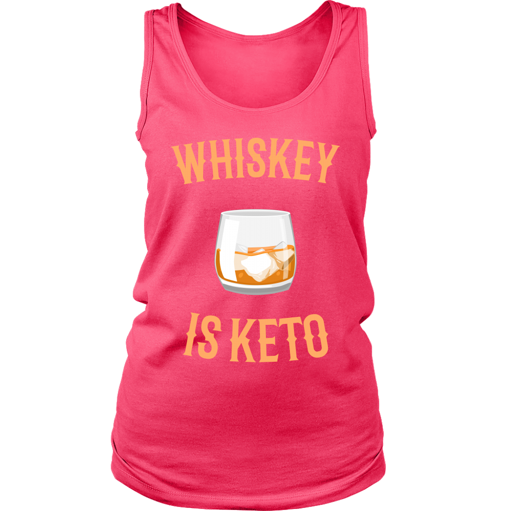 Whiskey Is Keto - Womens Tank