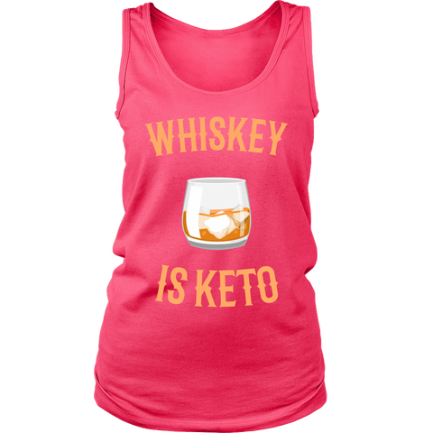 Image of Whiskey Is Keto - Womens Tank