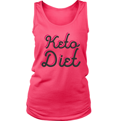 Image of Keto Diet - Womens Tank