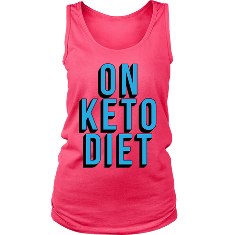 Image of On Keto Diet - Womens Tank