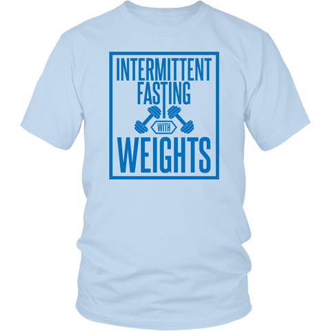 Image of Intermittent Fasting With Weights - Unisex Shirt