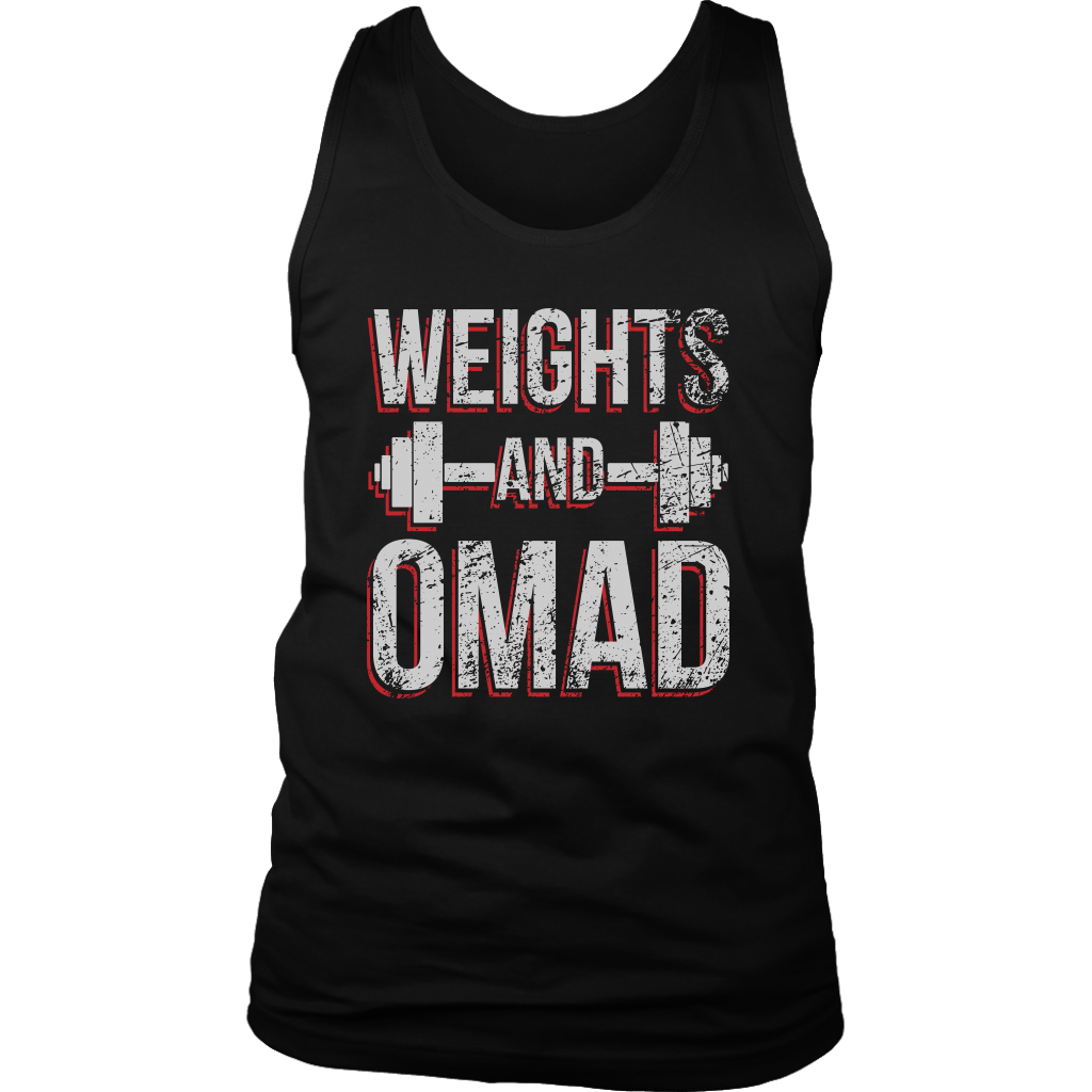 Weights And OMAD - Mens Tank