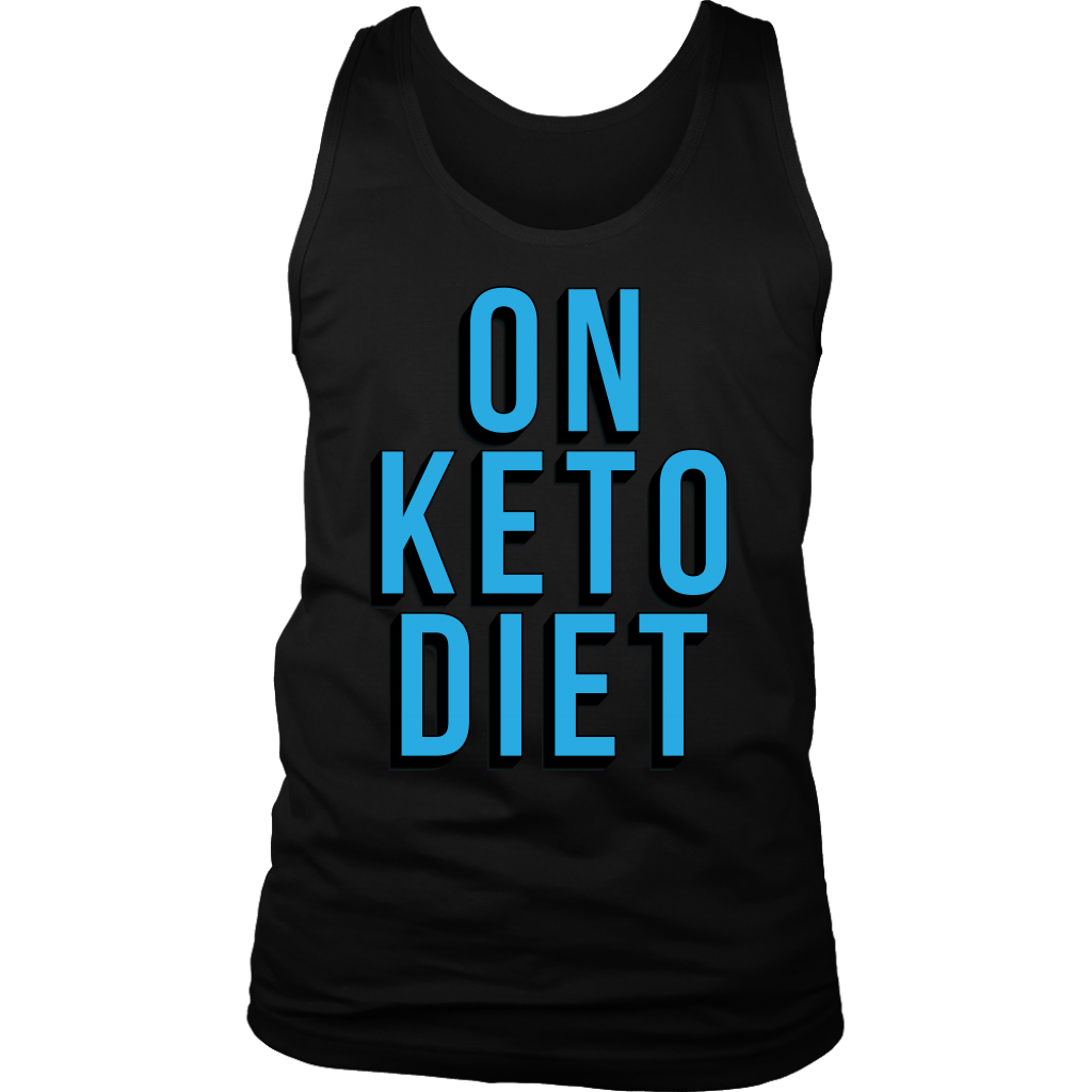 On Keto Diet - Mens Tank