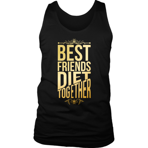 Image of Best Friends Diet Together - Mens Tank