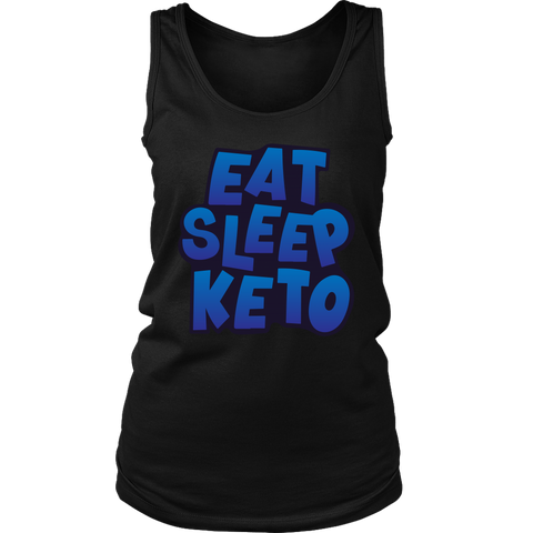 Image of Eat Sleep Keto - Womens Tank