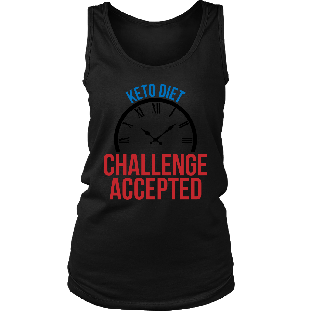 Keto Diet Challenge Accepted - Womens Tank