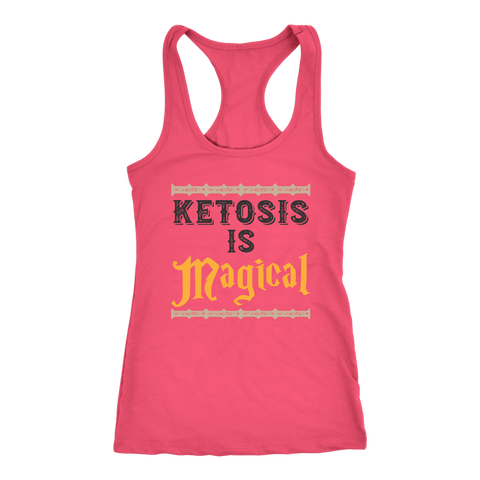 Image of Ketosis Is Magical - Racerback Tank
