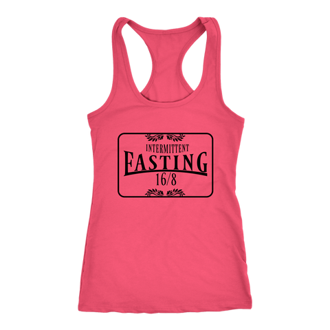 Image of Intermittent Fasting 16/8 - Racerback Tank