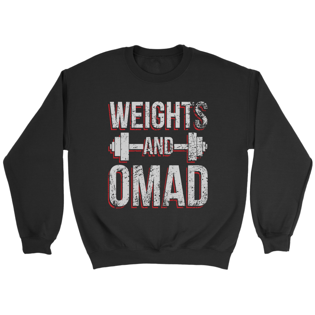 Weights And OMAD - Crewneck Sweatshirt