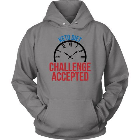 Image of Keto Diet Challenge Accepted - Unisex Hoodie