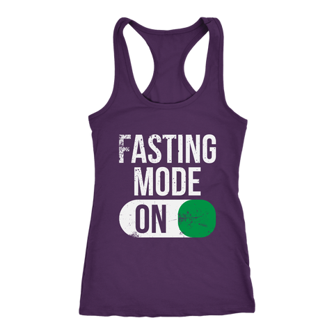 Image of Fasting Mode ON - Racerback Tank