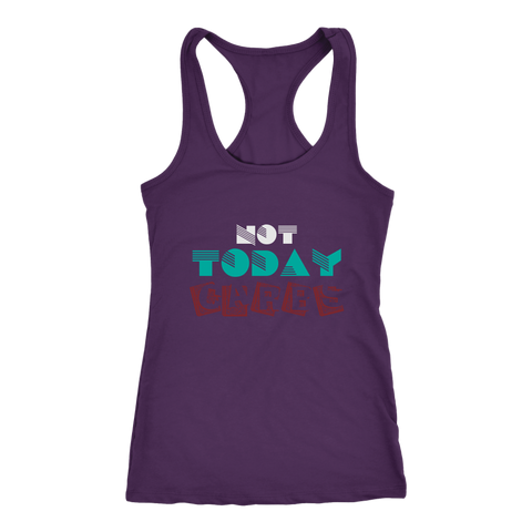 Image of NOT Today Carbs - Racerback Tank