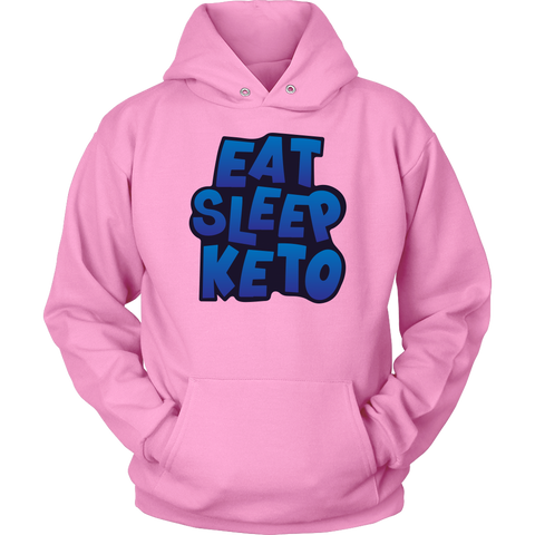 Image of Eat Sleep Keto - Unisex Hoodie
