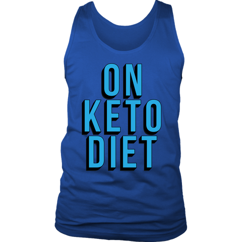 Image of On Keto Diet - Mens Tank