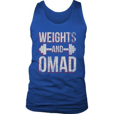 Image of Weights And OMAD - Mens Tank