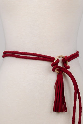 Rope Tassel Belt